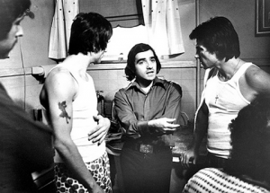 Robert De Niro, Director Martin Scorsese and Harvey Keitel.