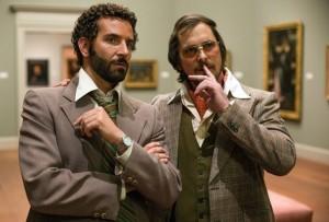 Bradley Cooper and Christian Bale in American Hustle