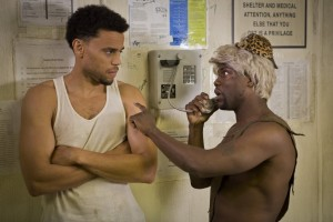 Michael Ealy and Kevin Hart in Think Like A Man Too