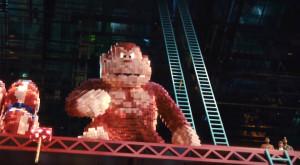 Donkey Kong in Pixels