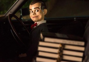 Jack Black voices Slappy the Dummy in Goosebumps