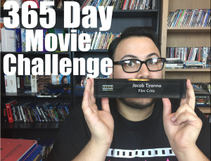 Jacob Tiranno accepts 365 Day Movie Challenge