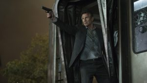 Liam Neeson in The Commuter