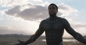 Chadwick Boseman in Black Panther