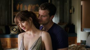 Dakota Johnson and Jamie Dornan in Fifty Shades Freed